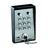 CAME S5000 Galvanized and painted steel surface-mounted keypad with illuminated panel