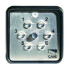 CAME S9000 surface-mounted keypad with 4 storable codes