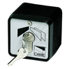 CAME SET-EN black-varnished, surface-mounted key switch